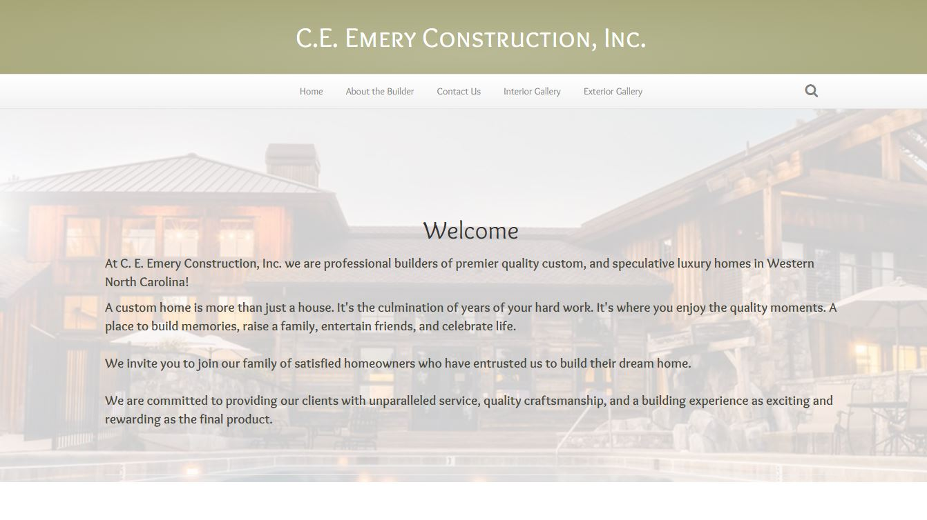 c e emery construction screenshot